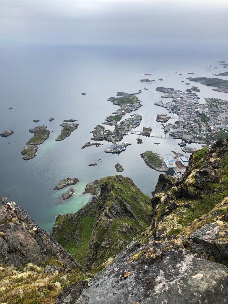 Utsikt från Fløya