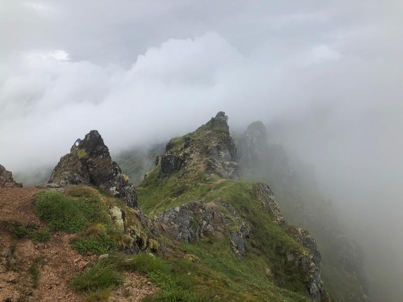 Utsikt från Blåtinden